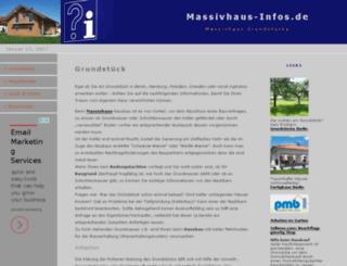 massivhaus-infos.de screenshot