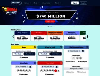 masslottery.com screenshot