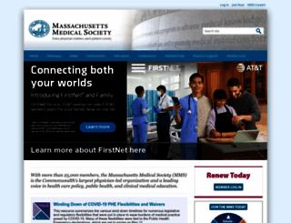 massmed.org screenshot