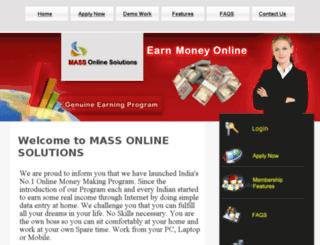 massonlinesolutions.com screenshot