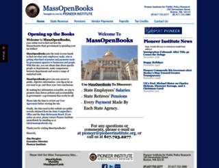 massopenbooks.org screenshot