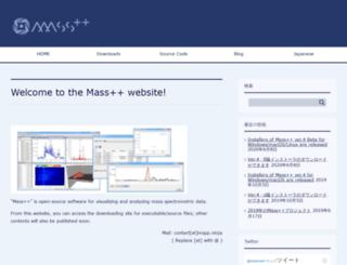 masspp.jp screenshot
