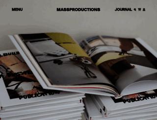 massproductions-online.com screenshot