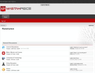 mastahpiece.com screenshot