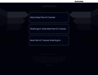 mastcheck.com screenshot
