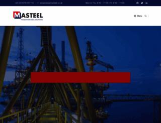 masteel.co.uk screenshot