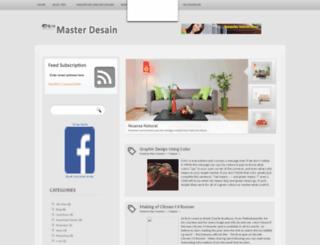 master-desain.blogspot.com screenshot