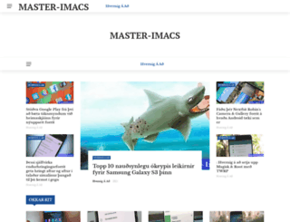 master-imacs.org screenshot
