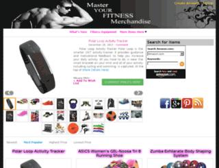 master-your-fitness-merchandise.com screenshot