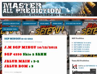 masterallprediction.wordpress.com screenshot