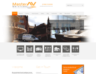 masteravservices.co.uk screenshot