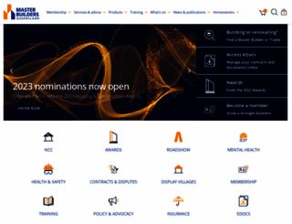 masterbuilders.asn.au screenshot
