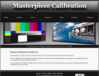 mastercal.co.nz screenshot