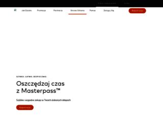mastercardmobile.pl screenshot