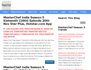 masterchefseason5.com screenshot