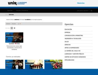 masterclass.unir.net screenshot