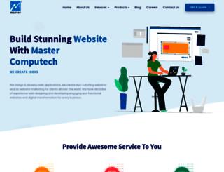 mastercomputech.com screenshot