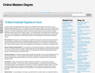 masterdegrees-online.blogspot.com screenshot