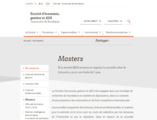 masterea.u-bordeaux4.fr screenshot