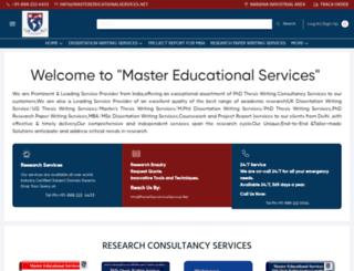 mastereducationalservices.net screenshot