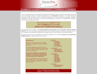 masterfox.com.sg screenshot