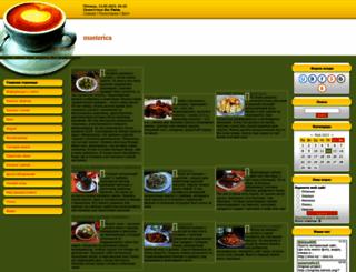 masterica.ucoz.com screenshot