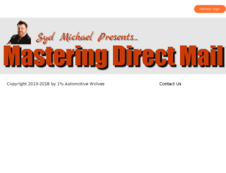 masteringdirectmail.com screenshot