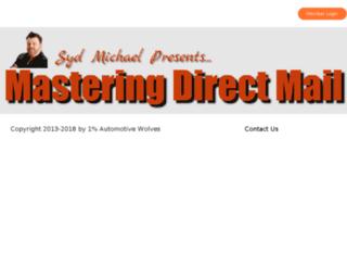masteringdirectmail.com screenshot