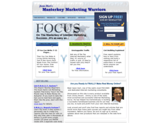 masterkeymarketingwarriors.com screenshot