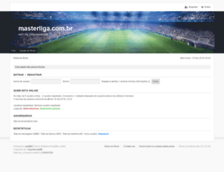masterliga.com.br screenshot
