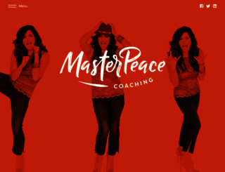 masterpeacecoaching.com screenshot