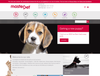 masterpet.com screenshot