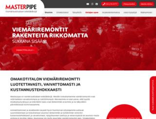 masterpipe.fi screenshot