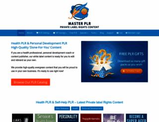 masterplr.com screenshot