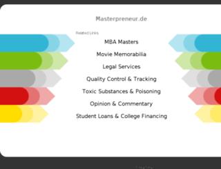masterpreneur.de screenshot