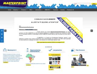 masterprintnet.com.br screenshot