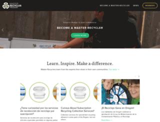masterrecycler.org screenshot