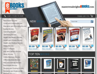 masterresalerightsebooks.com screenshot