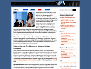 masters-in-business.net screenshot