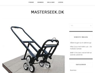 masterseek.dk screenshot