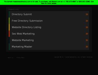 masterseodirectory.com screenshot