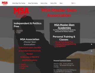 mastersken.com screenshot