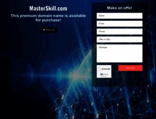 masterskill.com screenshot