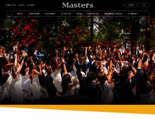 mastersny.org screenshot