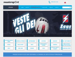 mastersport.ro screenshot