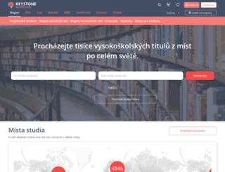 masterstudies.cz screenshot