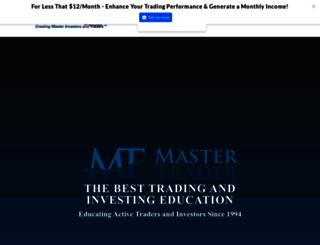 mastertrader.com screenshot