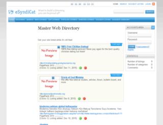 masterwebdirectory.graceofgodministry.org screenshot