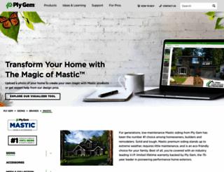 mastic.com screenshot