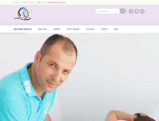mastichari-massage.gr screenshot